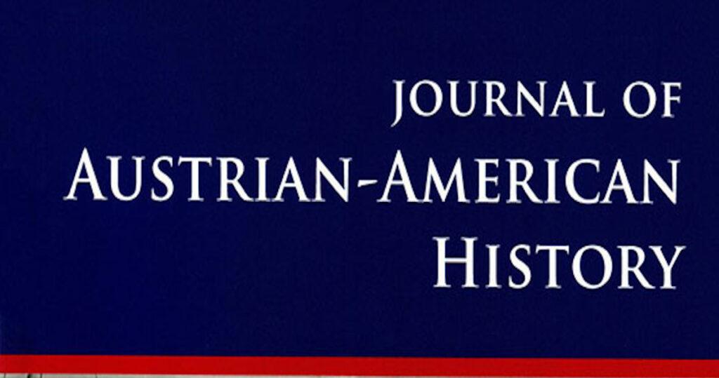 """Beitrag von ACIPSS-Forscher Thomas Riegler über die Hintergründe des """"Dritten Manns"""" im Journal of Austrian-American History erschienen"""